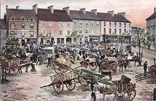 se irish postcard ireland donegal market day