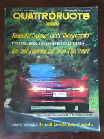 Quattroruote 443 Settembre 1992 - Subaru SVX, Mercedes 600SL, Rover 820T