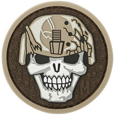 Maxpedition Soldier Skull 3D Pvc Rubber Badge Militaire Moreel Patch Arid