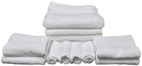 Embrace Collection Complete Bath Set Includes 4 Bath 4 Hand Choice of Washcloths