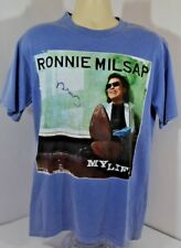 Vtg Ronnie Milsap My Life Band Music Short Sleeve Delta Brand T-shirt Mens M