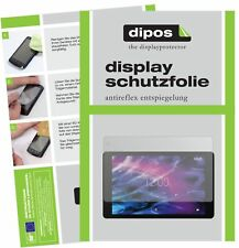 2x Medion Lifetab P10602/5, X10605/7 Schutzfolie matt Displayschutzfolie