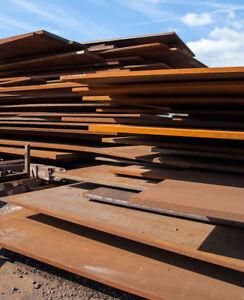 Steel Plate 2.400 Mtrs  x 1.030 Mtrs x 5mm Mild Steel  #p25447