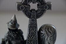 MYTH AND MAGIC - CELTIC WIZARD FIGURE BY TUDOR MINT RARE