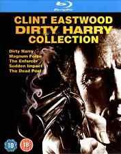 Blu-Ray Dirty Harry Box Collection, NEU Set 1-5, Complete Clint Eastwood Deutsch