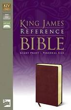 KJV, Reference Bible, Giant Print, Personal Size, Bonded Leather, Burgundy,...