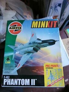 Airfix F4EJ Phantom II 1:144 Scale  Model Kit, glue included