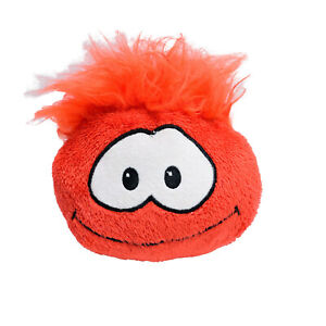 Disney Club Penguin Red Puffle Soft Stuffed Toy 12cm Washed & Clean Kids