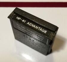 HP-41 Advantage Modul A HP5061-7285 für HP 41C/41CV/41CX
