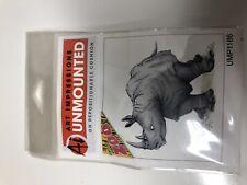 Art Impressions Stamp Zoo Series -Rhino Umu1186