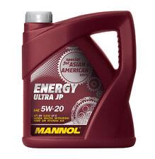 Aceite motor / 5W20 / Cuatro tiempos / Gasolina inyeccion directa / MANNOL / 4L