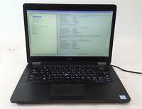 """Dell Latitude E5470 Laptop Computer i5 6th Gen. 256GB SSD 8GB 14"""" No OS/AC ***"""