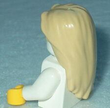 HAIR Lego F008 Female Long Straight Tan NEW Genuine Lego Unisex Girl Boy Potter