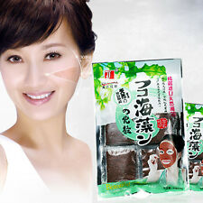 Seaweed mask granules natural collagen Face Skin Acne Freckle scar  &L