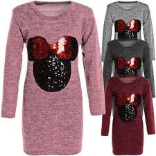 Langarm Mädchen-T-Shirts & -Tops im Tunika-Stil mit Rundhals-Ausschnitt