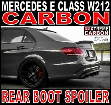 Mercedes E Class W212 saloon M-Style Carbon Ducktail Rear Boot Spoiler E63 DTM