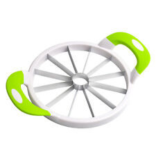 Watermelon Cutter Cantaloupe Melon Slicer Stainless Kitchen Fruit Divider S