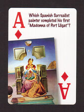 Salvador Dali Artist Madonna of Port Lligat Neat Playing Card #9Y4