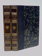 MÉMOIRES DU PRINCE CLOVIS DE HOHENLOCHE - 1909 - 2/3 VOL [BUDRY]  - POLITIQUE