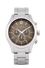 French Connection FCUK FC1144TM Men's Chronograph  Stainless Steel Watch - Tags