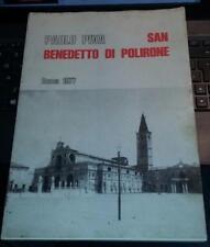 paolo piva-san benedetto di polirone storia di un complesso monastico-roma 1977