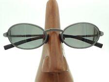 Vintage Nike EG0003 Tiger r Oval Gunmetal Eyeglasses Sunglasses Frames Italy 133fceb38e9d