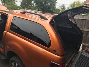 Ford Ranger Truckman Luxury Hard Top T6 Orange 2018 central locking heated glass