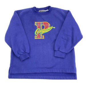 Vintage The Childrens Place Crewneck Sweater Boys Size Small Purple Pullover EUC