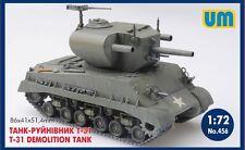 UM - 456 - T-31 Demolition Tank - 1:72