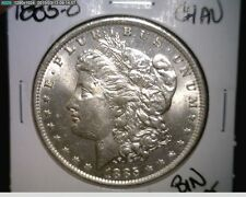 1885-O US MORGAN SILVER DOLLAR CH-AU IN 90% SILVER ~NICE WHITE!