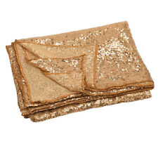 120x180cm Champagne Gold/Silver Sparkly Sequin Tablecloth Backdrop Wedding Party