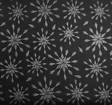 Wilmington Prints LET IT SNOW (FLAKES - Black)100% Cotton Quilt Fabric-1/2 yd