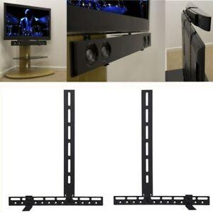 Universal Soundbar Halterung für Soundbars Lautsprecher Boxenstän Samsuang LG 3D