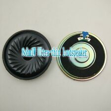 2pcs 57mm 8ohm 8Ω 1W Ultra-thin speaker loudspeaker for Toys / lockers / headset