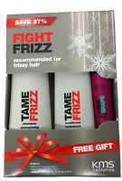 KMS TAMEFRIZZ Holiday Duo Shampoo / Conditioner + Hot Flex Spray Sample