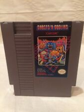 Ghosts 'n Goblins (Nintendo Entertainment System, 1986) NES Tested