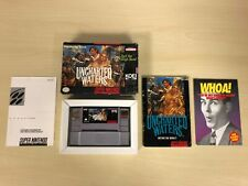 Uncharted Waters Complete SNES Super Nintendo CIB Original Game