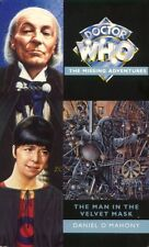 Dr Doctor Who Missing Adventures Book - THE MAN IN THE VELVET MASK - (Mint New)