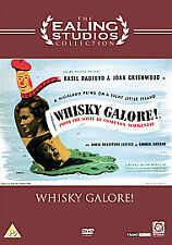 Whisky Galore! (DVD),CLASSIC 1949 MOVIE,UK REGION 2 SHOP ISSUE ,NEW AND SEALED