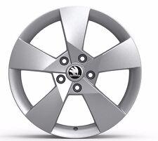 Original SKODA OCTAVIA III aloy wheel Denom 7,0Jx17 ET49, silber, 5E0071497 8Z8