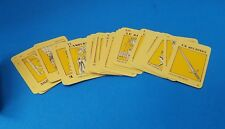 Vintage 1970 Art Fair Tarot Deck 42 Cards W/Original Case And Instructions