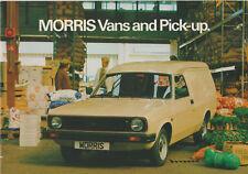 1979 SALES BROCHURE - MORRIS VANS AND PICK-UP - MINT CONDITION
