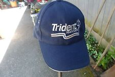 TRIDENT SEAFOOD EMBROIDERED BLUE CRAB FISHING BASEBALL HAT