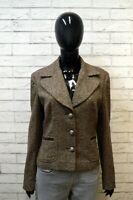 Giacca Donna DOLCE & GABBANA Taglia 42 Blazer Jacket Woman Seta Lana Vintage