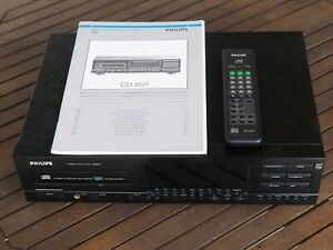 Philips CD-850 CD Player and remote control