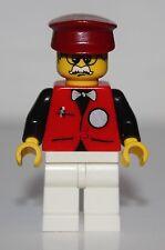 LeGo Infomaniac Minifig w/ Dark Red Hat NEW