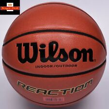 "Wilson Reaction Basketball Performance Composite -Official 29.5"" Gameball size 7"