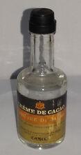 Mignon CREME DE CACAO CAMEL liquore di cacao Sigillata con tappo in plastica