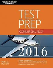 ASA Test Prep: Commercial Pilot Test Prep 2016 Book