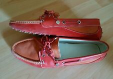Tods Loafers Mokassins Schuhe 39,5 Tod's guter Zustand in orange